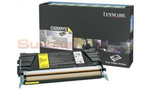 LEXMARK C520 C530 TONER CARTRIDGE YELLOW RP (C5200YS)