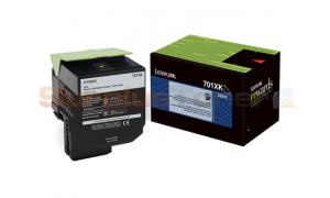 LEXMARK CS510 RP TONER CARTRIDGE BLACK 8K (70C1XK0)
