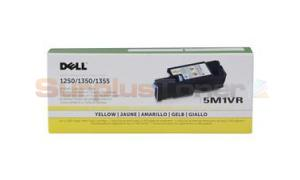 DELL 1250C 1355CN MFP TONER YELLOW 1.4K (331-0779)