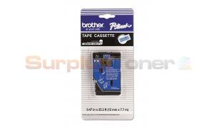 BROTHER P-TOUCH TAPE BLACK/BLUE (1/2 X 25) (TC-6001)
