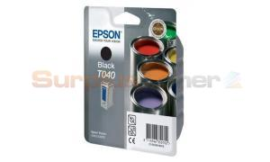 EPSON STYLUS C62 CX300 INK BLACK (C13T04014010)