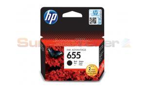 HP 655 INK CARTRIDGE BLACK (CZ109AE)
