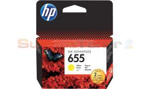 HP 655 INK CARTRIDGE YELLOW (CZ112AE)