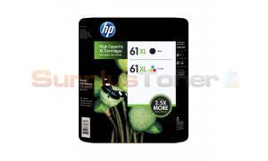 HP 61XL INK BLACK/COLOR COMBO PACK (CR258BN)