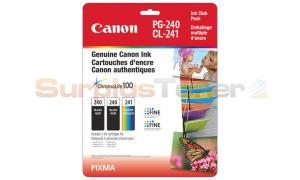 CANON PG-240/CL-241 INK BLACK/COLOR CLUB PACK (5207B005[AA])