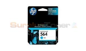HP NO 564 INK CARTRIDGE CYAN (CN681WN)