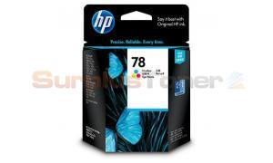 HP NO 78 INK CARTRIDGE TRI-COLOR (C6578J)