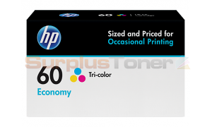 HP NO 60 ECONOMY INK CART TRICOLOR (B3B06AN)