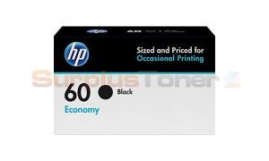 HP NO 60 ECONOMY INK CARTRIDGE BLACK (B3B05AN)