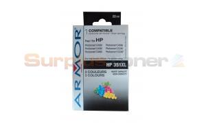 HP 351XL INK TRI-COLOR ARMOR (K20255)
