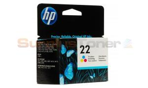 HP 22 INK CARTRIDGE TRI-COLOR (C9352AE#UUS)