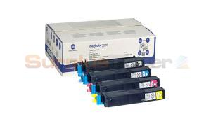 KONICA 7300 TONER VALUE PACK (C M Y K ) (1710531-100)