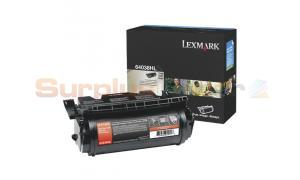 LEXMARK T640 T642 TONER CARTRIDGE HY (64038HL)