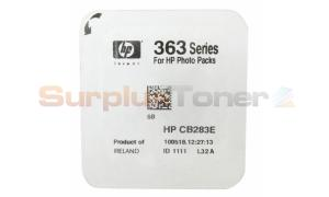 HP NO 363 INK CARTRIDGE LIGHT CYAN (CB283E)