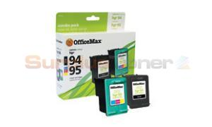 HP 94/95 INK CART CMYK COMBO-PACK OFFICEMAX (OM96530)