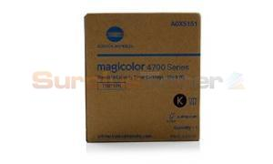 KONICA MINOLTA MC 4750 TONER CARTRIDGE BLACK (A0X5151)