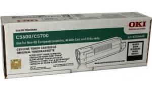 OKI C5600 C5700 TONER CARTRIDGE BLACK (43324440)