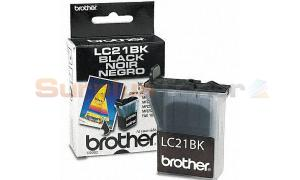 BROTHER 3100 5200 INK CARTRIDGE BLACK (LC21BK)