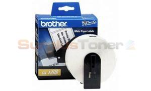 BROTHER P-TOUCH PAPER ADDRESS LABELS 1-1/2IN (DK1208)