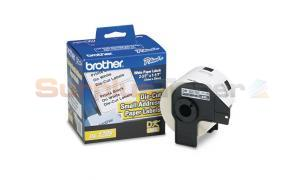 BROTHER P-TOUCH SMALL ADDRESS LABEL 1-1/7IN X 2-3/7IN (DK1209)