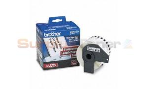 BROTHER P-TOUCH WHITE CONT. PAPER ROLL 2-3/7IN (DK-2205)