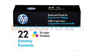 HP 22 INK ECONOMY TRI-COLOR (B3B19AN)