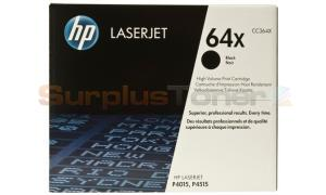 HP NO 64X TONER BLACK 24K (CC364X)