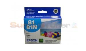 EPSON STYLUS PHOTO R290 INK CTG CYAN HY (T081220)