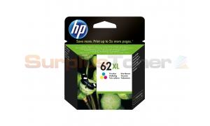HP 62XL INK CARTRIDGE TRI-COLOR (C2P07AN)
