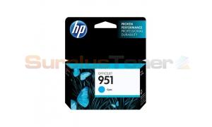 HP OFFICEJET NO 951 INK CARTRIDGE CYAN (CN050AE)
