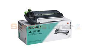 SHARP AL-1600/1670 TONER/DEVELOPER CTG BLACK (AL-160TD)