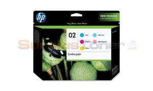 HP NO 02 INK CMY LC LM COMBO-PACK (CC604FN)