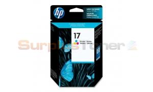 HP NO 17 INKJET CARTRIDGE TRI-COLOR (C6625A)