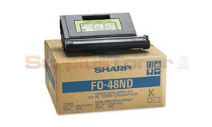 SHARP FO4800 TONER/DEVELOPER KIT BLACK (FO-48ND)