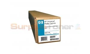 HP UNIVERSAL MATTE CANVAS 42IN X 50FT 18MIL (Q8714A)