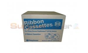 PITNEY BOWES B700 RIBBON CASSETTES RED (767-1)