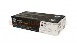 HP 126A TONER CARTRIDGES BLACK DUAL PACK (CE310AD)