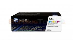 HP NO 128A PRINT CARTRIDGE COLOR TRI-PACK (CF371AM)