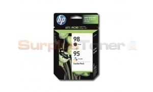 HP NO 95 98 INK BLACK/TRI-COLOR COMBO PACK (CB327FN)