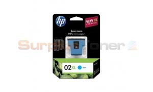 HP 02 XL INK CYAN (C8730WN)