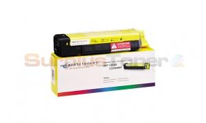 MEDIA SCIENCES TONER YELLOW FOR OKI C5550MFP C6100 (MSOK6155Y)