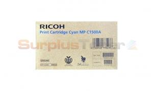 RICOH AFICIO MP C1500A PRINT CARTRIDGE CYAN (888526)