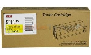 OKIDATA MPS711C TONER YELLOW (52123801)