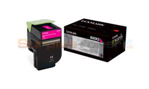 LEXMARK CX510 TONER CARTRIDGE MAGENTA 4K (80C0X30)