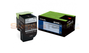 LEXMARK CX510 TONER CARTRIDGE BLACK RP 4K (80C1HK0)