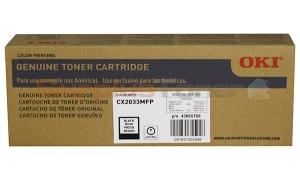 OKIDATA CX2033 MFP TONER CARTRIDGE BLACK (43865768)