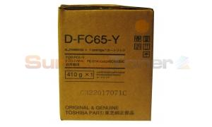 TOSHIBA E-STUDIO 5540C DEVELOPER YELLOW (D-FC65-Y)