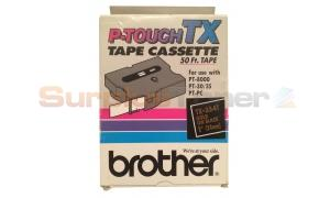 BROTHER P-TOUCH TAPE GOLD/BLACK (24 MM X 15 M) (TX-3541)
