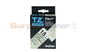 BROTHER TZ TAPE BLACK ON CHRISTMAS 18 MM X 8 M (TZ-PC41)