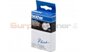 BROTHER TC TAPE GOLD ON CLEAR 12 MM X 6.6 M (TC-104)